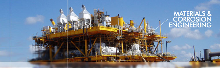 Materials and Corrosion Engineering services for oil and gas industries Australia